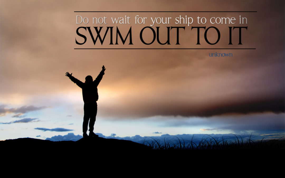 Swim Out To It!